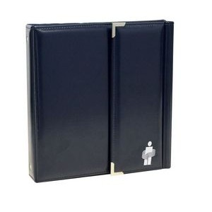 Synthetic Leather Tri-Fold Binder