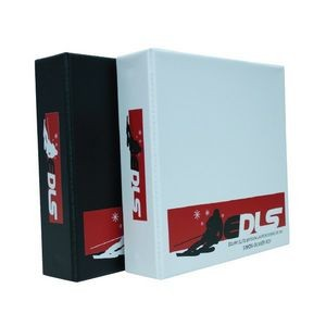 "3 ""S/D"" Ring Binders slanted w/Triggers - 200 Sheets"